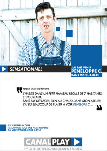 Canalplay - Conception publicitaire - Graphiste freelance Grenoble & Annecy