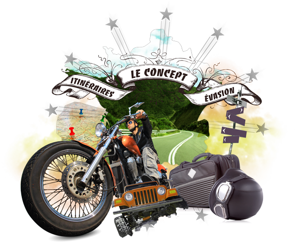 Itineraire Evasion - Agence de voyage en moto